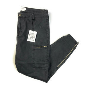 Stitch Fix Pistola Noella Gray Zipper Pants NWOT